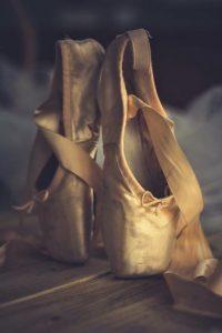 Balletschoenen, ballet mijn eerste sport.