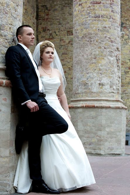 Poolse bruiloft fotoshoot