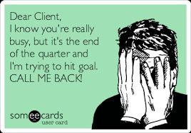 Some ecards - dear client