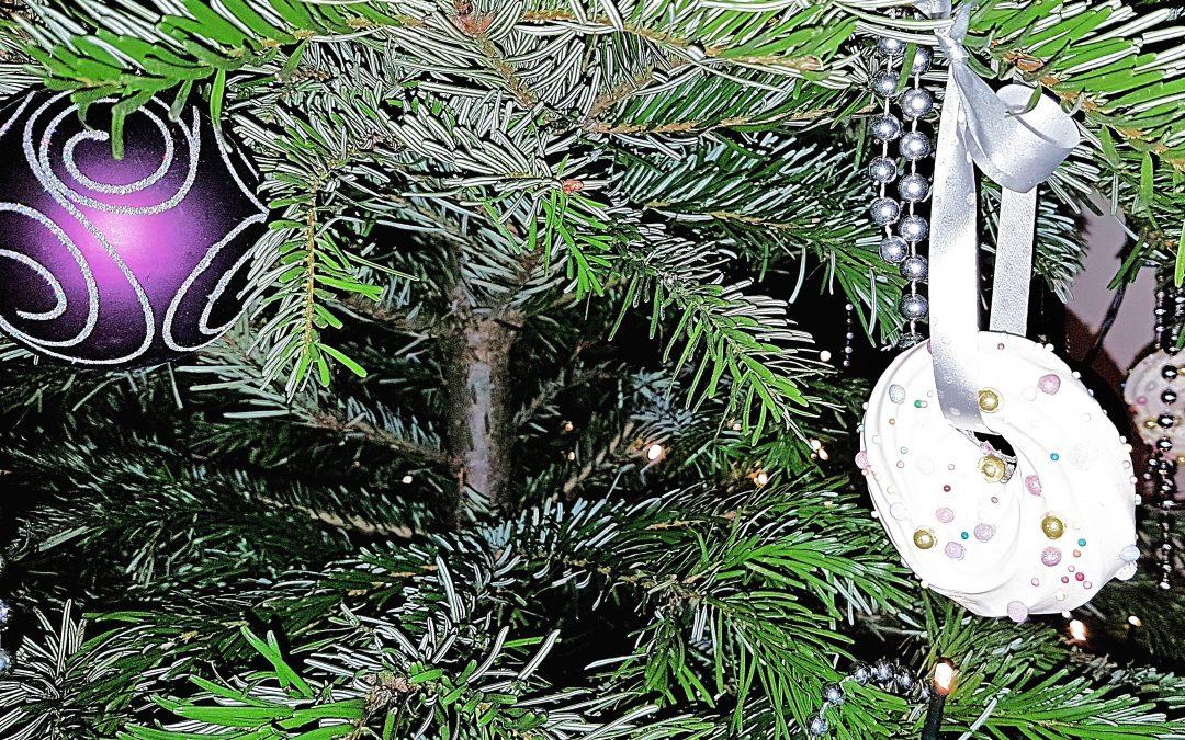 Koekjes voor in de kerstboom – schuimkransjes
