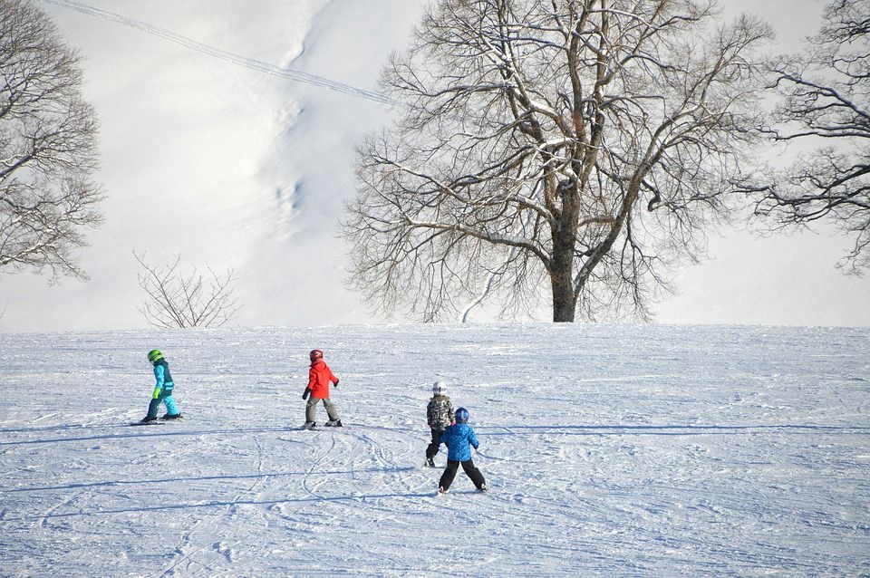 Checklist voor wintersport met kleine kinderen