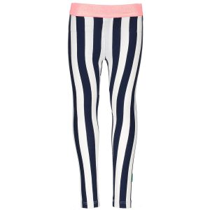 B.Nosy legging blauw stripes kinderkleding