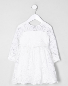 I love lace - bruidsmeisjesjurk wit kant2