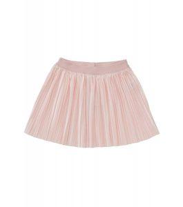 Kinderkleding kinderrok fluweel lichtroze