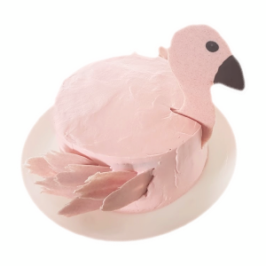 Flamingotaart - sara drie jaar - taart