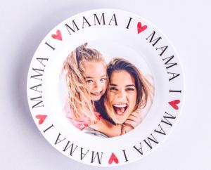 Gepersonaliseerde moederdag cadeaus Greetz Bord I love mama