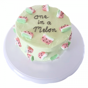 Meloentaart - sara drie jaar - taart