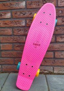 Nijdam Flipgrip-board - Skateboard - 22.5 inch - sara drie jaar - cadeaus