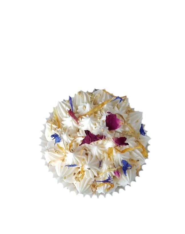 cupcake gedroogde bloemen botercreme2